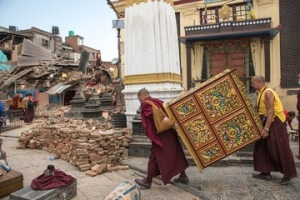 Neap atershock earthquake